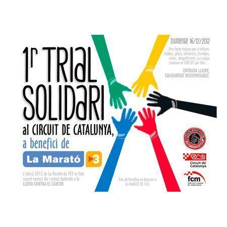Trial Solidario en el Circuit de Catalunya