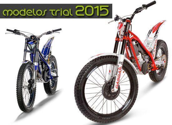 Las motos de Trial del 2015