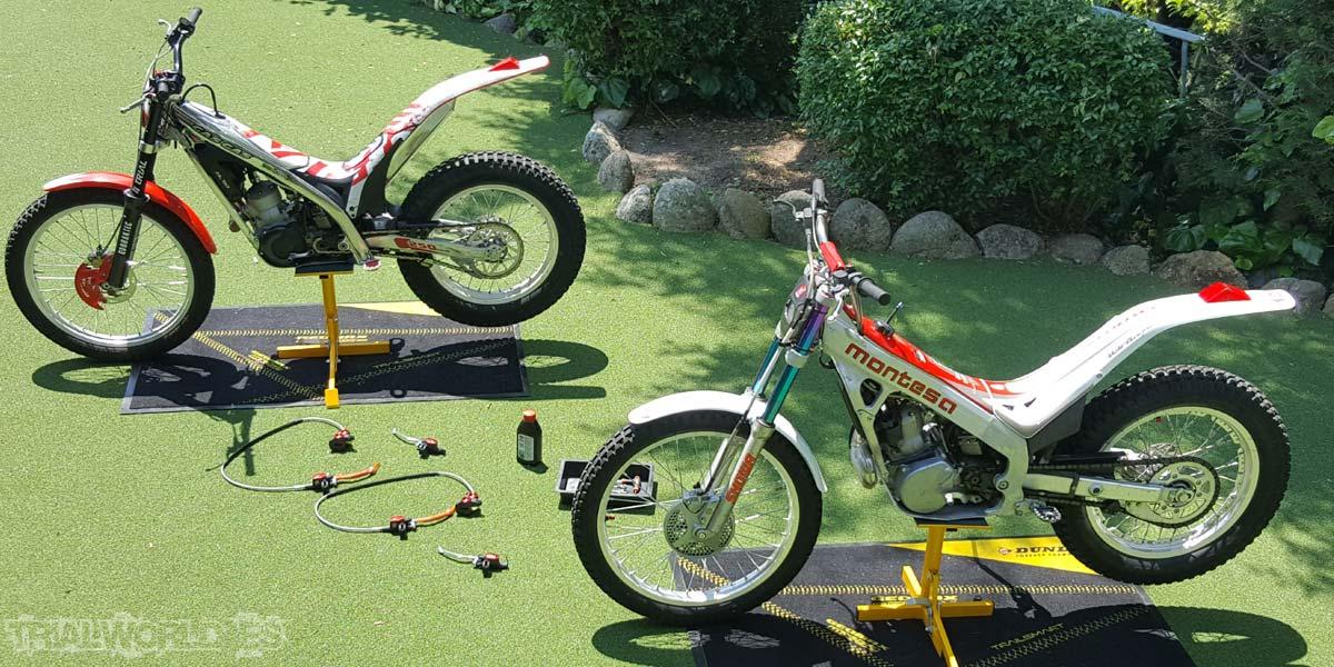 motos de trial bombas braktec