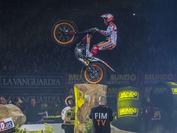 Toni Bou Trial Indoor Barcelona 2016