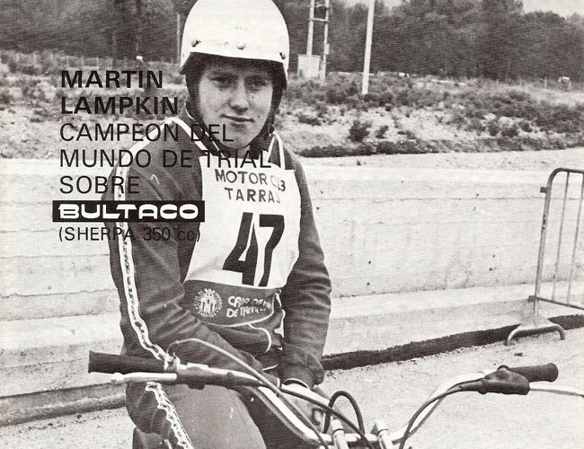 martin lampkin bultaco