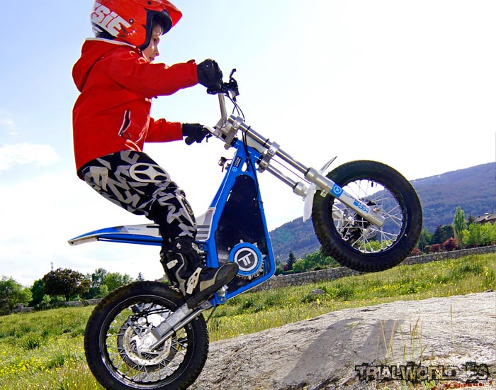 Torrot T12 trial infantil electrica