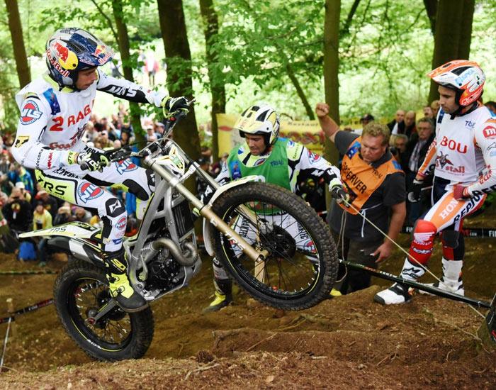 Adam Raga GP Alemania Trial 2016