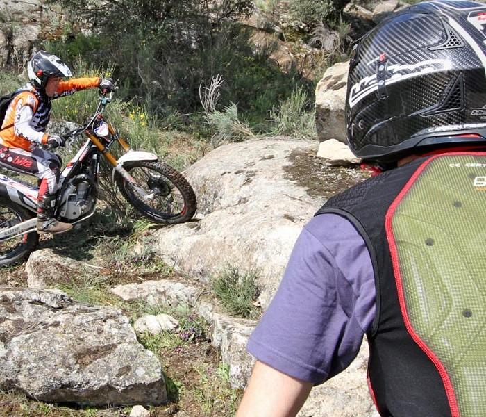 Previo curso de trial 13 de mayo en Cabanillas de la Sierra (Madrid)