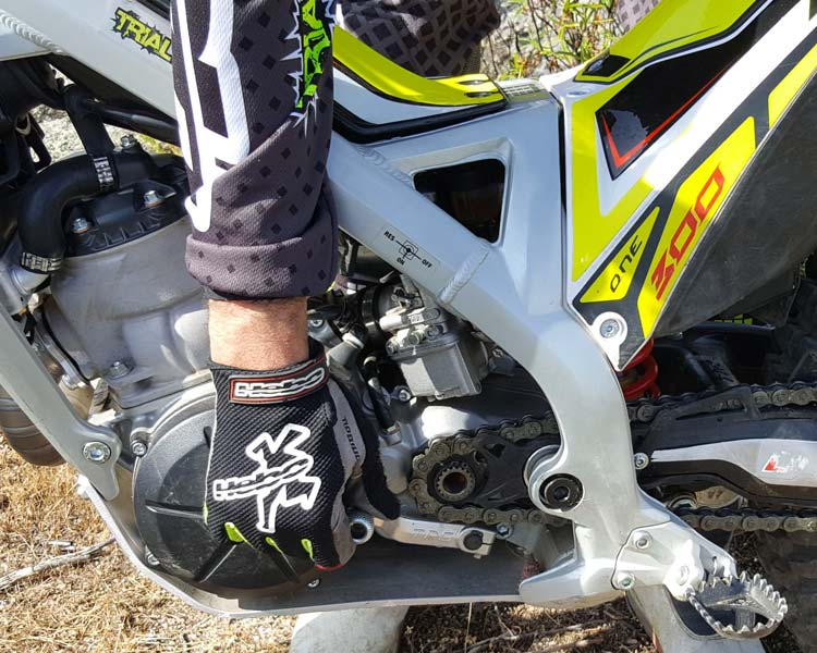 trs one 300 motor