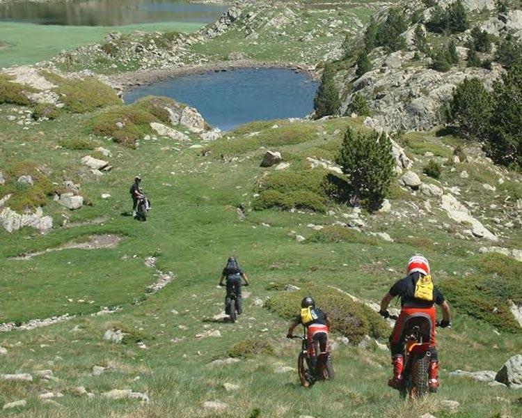 excursion motos de trial
