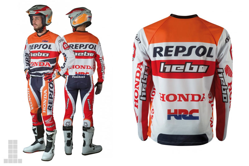 Hebo repsol team equipacion trial 2017