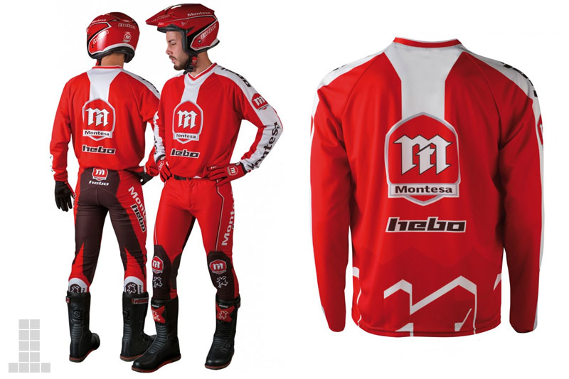 Hebo Montesa equipacion trial 2017