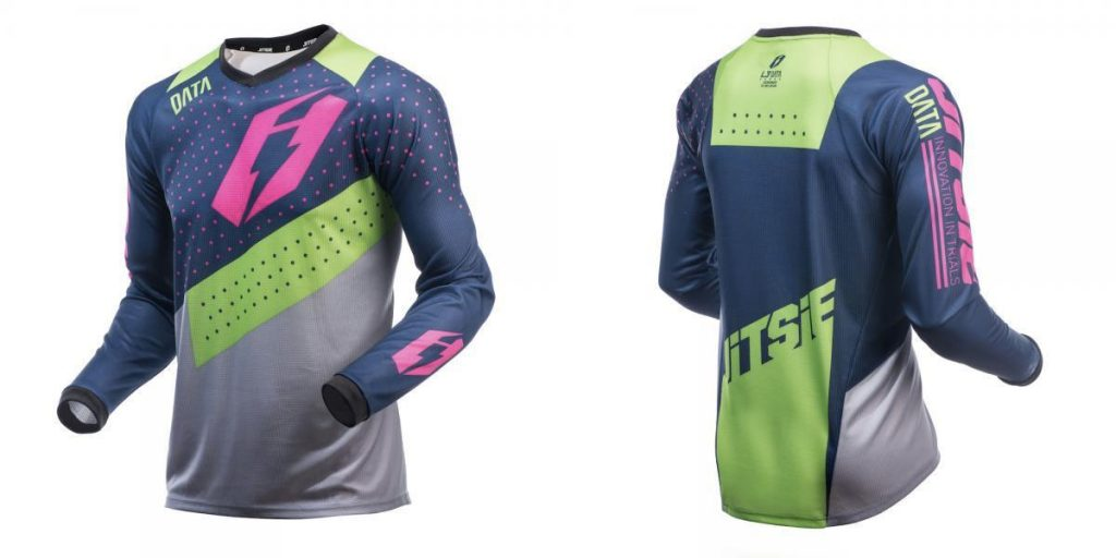 jitsie data camiseta trial verde