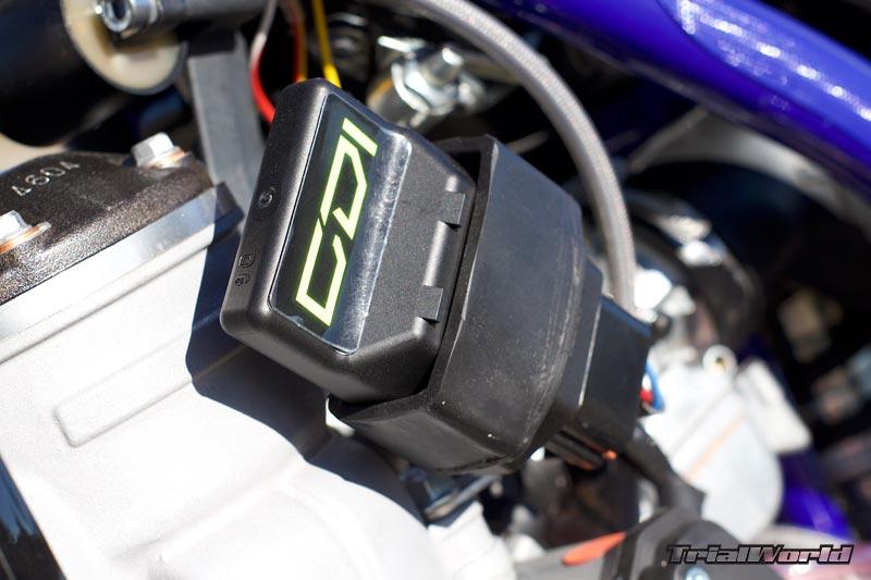 sherco trial 2017 motor