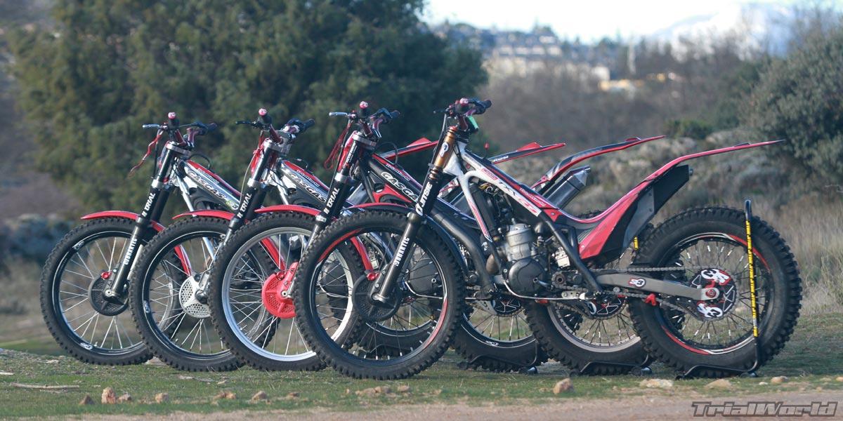 alquilar motos de trial en madrid