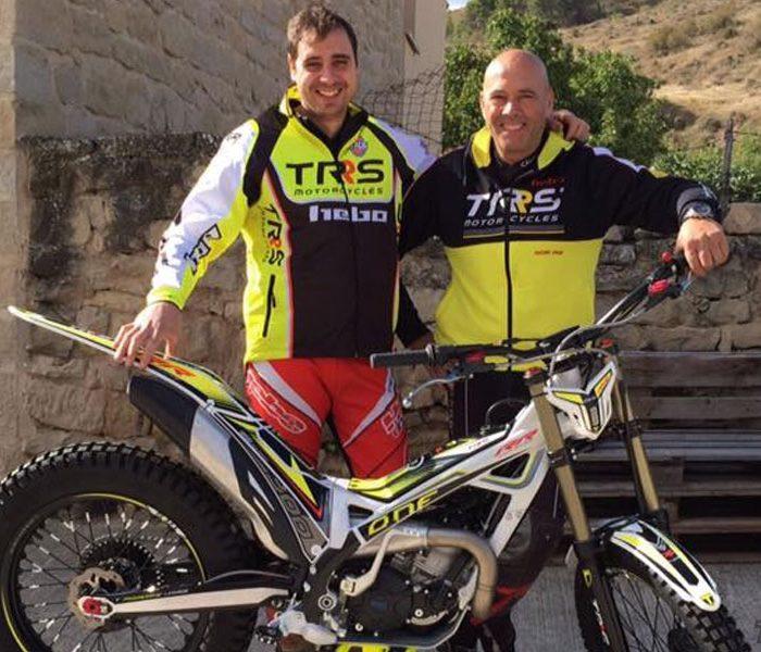Miguel Angel Jimenez regresa a la competición con el Mediser Trial Team