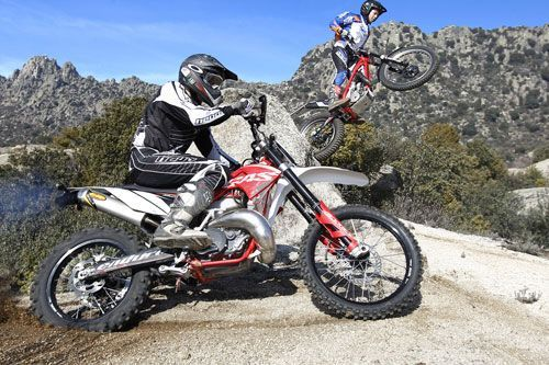 moto enduro vs trial