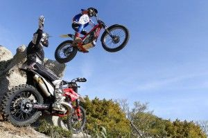 moto enduro vs trial