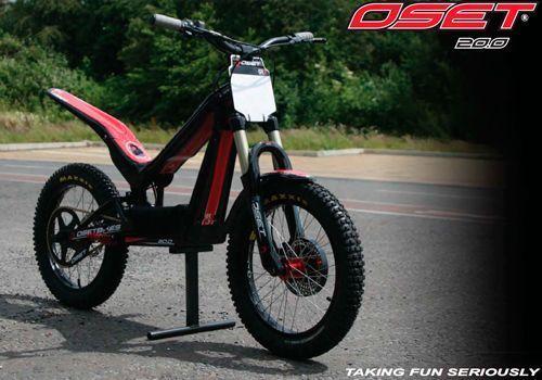 Descubre las motos de Trial electricas Oset  12.0 16.0 y 20.0