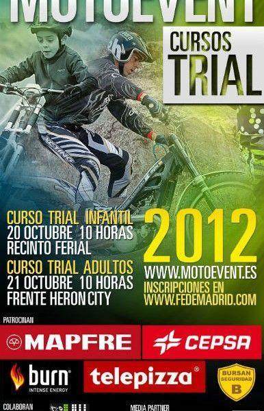 Llega el Moto Event Madrid. Cursos de Trial