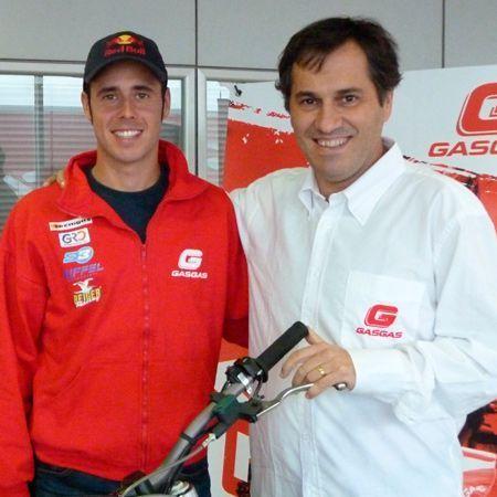 Raga firma con Gas Gas hasta 2014