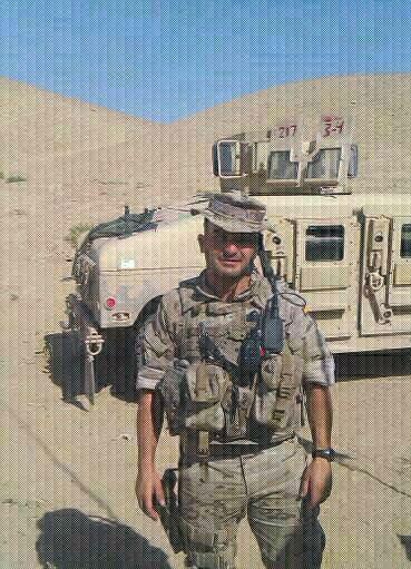 Un trialero en Afganistan: Sergio Perez.
