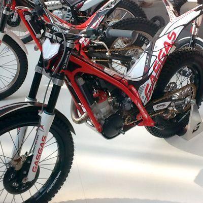 Asi es la nueva Gas Gas Racing 2013