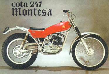 Montesa Cota 247 1972