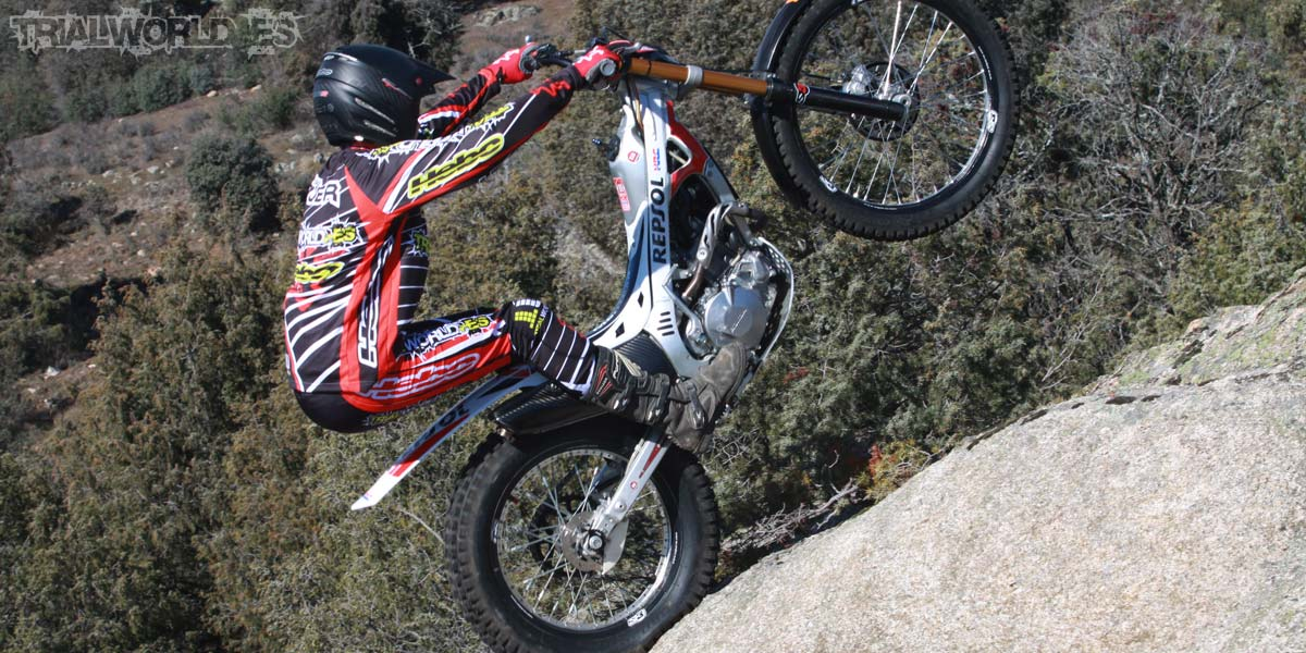 Montesa Cota 4RT Repsol test