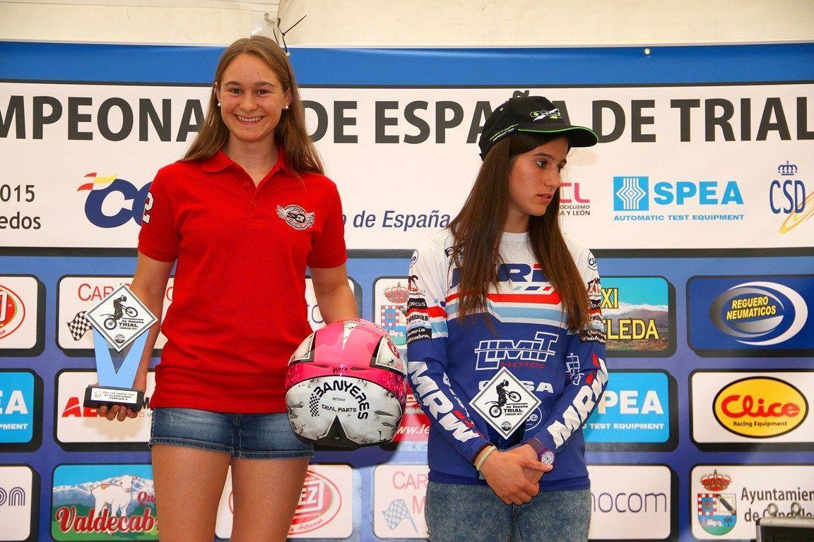 podio femenino candeleda 2015