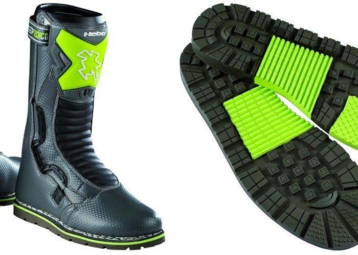 Hebo lanza una revolucionaria colección de botas de trial