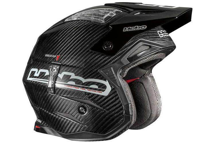 casco hebo carbono trial 2016