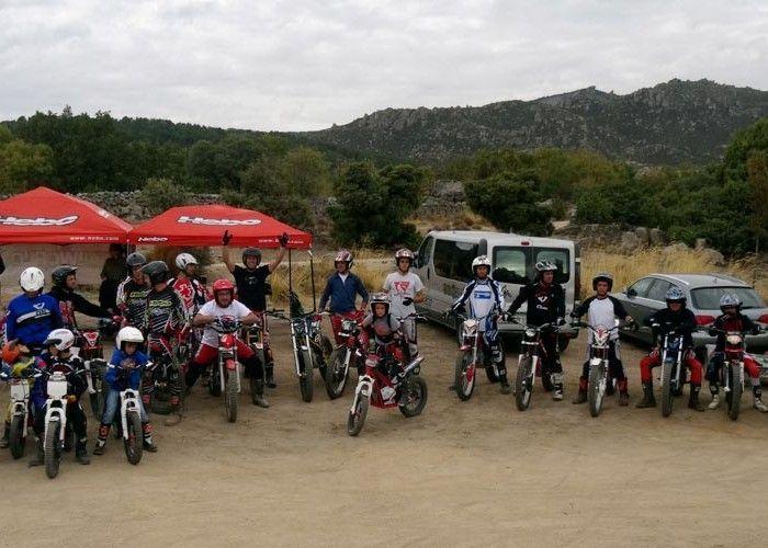 Éxito en el curso de trial de Becerril de la Sierra