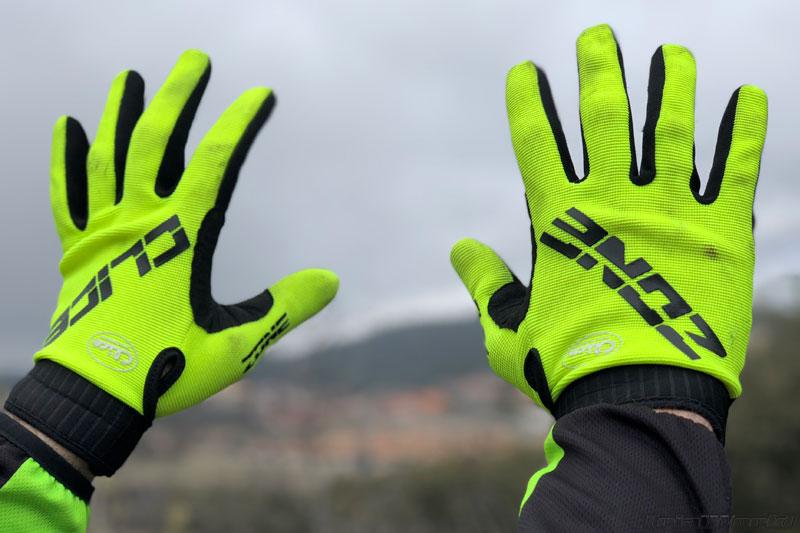 guantes trial clice zone amarillo