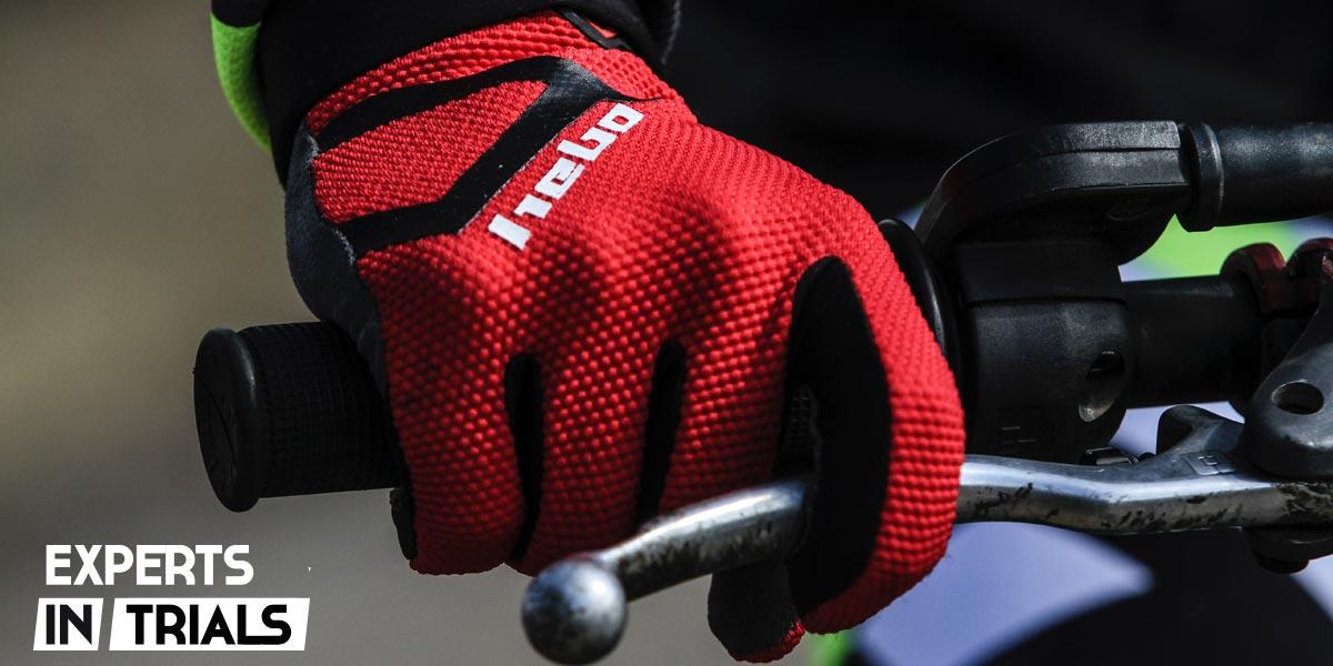 guantes hebo nano pro III 2020 rojo