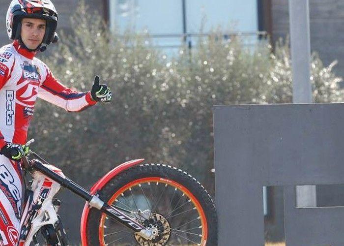 Jeroni Fajardo entrenando a una rueda – slow motion