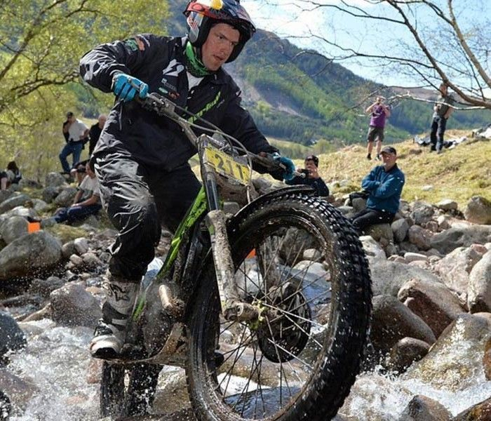 Dougie Lampkin gana los Scottish Six Days Trial 2015
