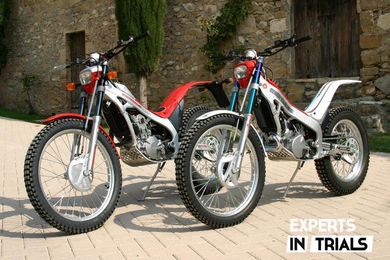 Montesa Cota 315R 2004 y Montesa Cota 4RT 2005