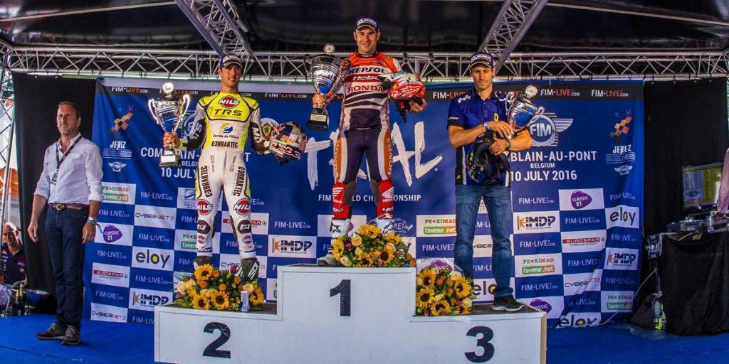podium trial belgica 2016