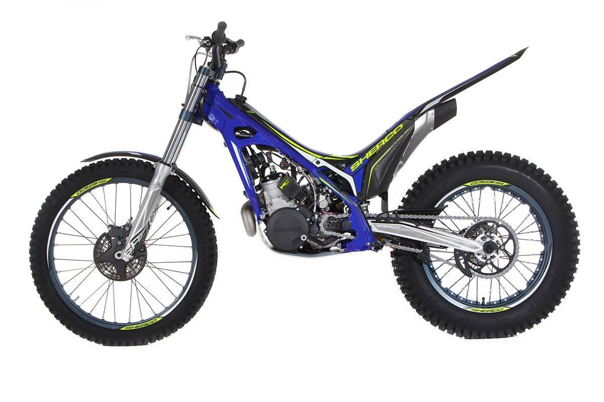 sherco st 300 2016 trial