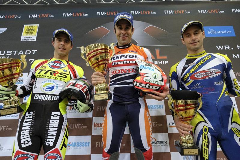 xtrial austria 2017 podium