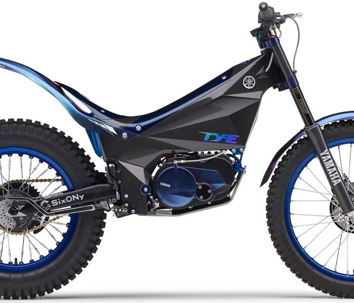 Yamaha TYE eléctrica de Trial