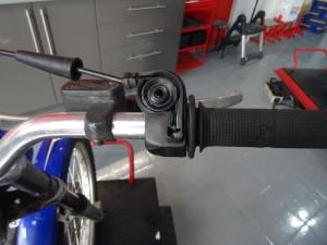limpieza acelerador moto de trial