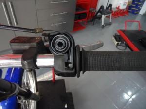 ajuste acelerador moto de trial