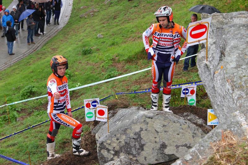 Toni Bou y Jaime Busto