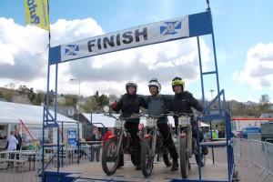 llegada motos de trial scottish trial