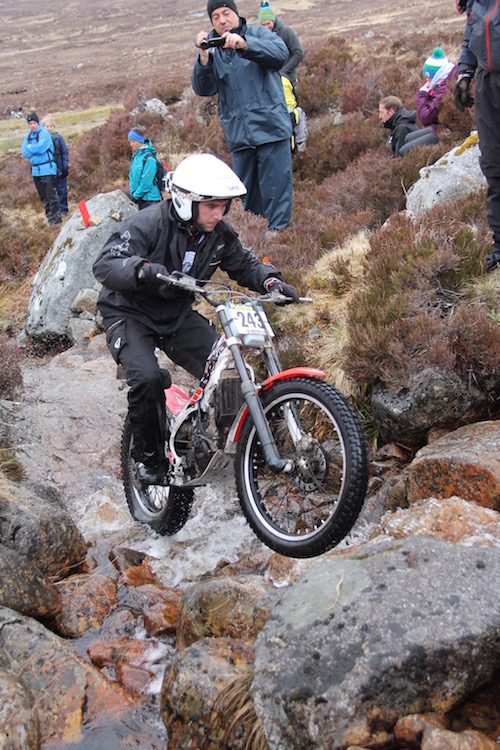 motos de trial scottish trial