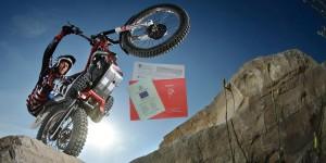 transferir moto de trial