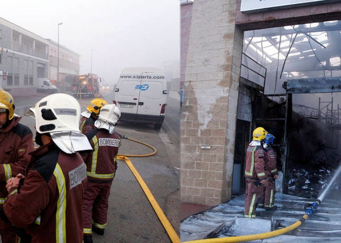 S3 Parts sufre un incendio que acaba con su fábrica