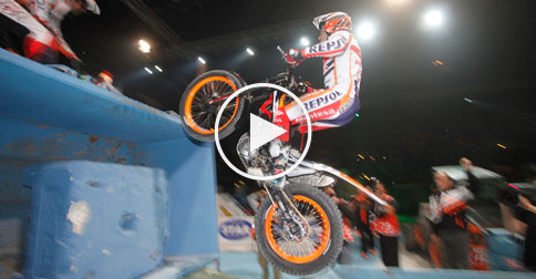 toni bou trial indoor 2015