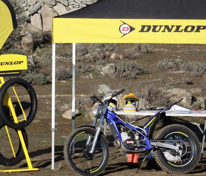 Dunlop será neumático oficial de Trialworld School