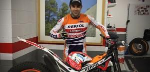 Toni Bou Hebo Carbon Helmet
