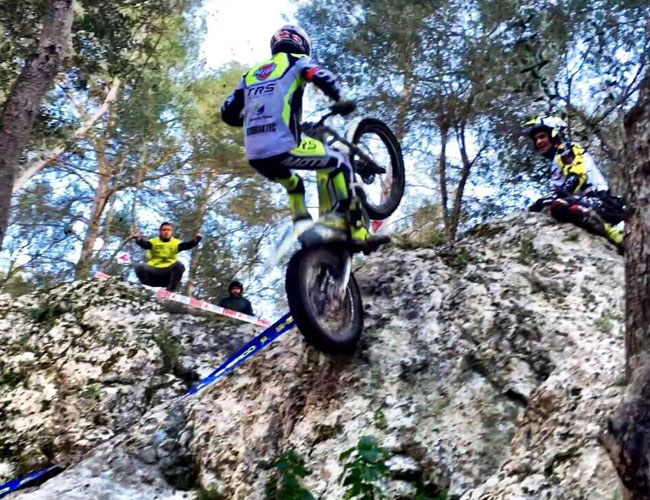 Adam raga Campeonato España Trial 2016