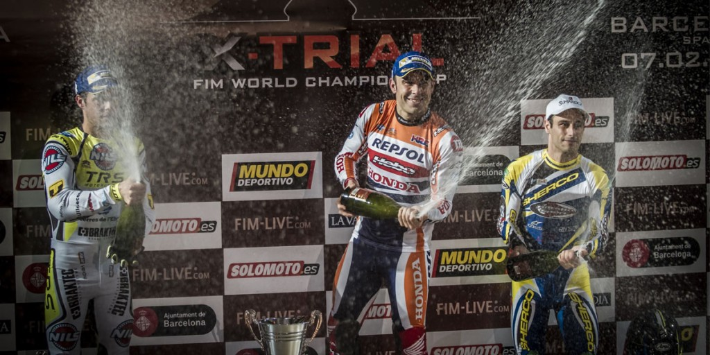 Podium Trial Indoor de Barcelona 2016